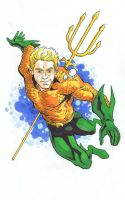 Aquaman by davidjcutler