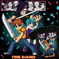 Scott Pilgrim TEE by NicParris