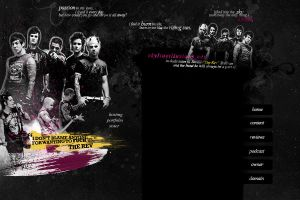 A7X Layout. RIP Jimmy Sullivan by SkylineIllusions