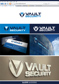 VAULT SECURITY LOGO by dylovastuff