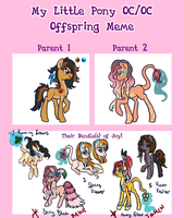 My Little Pony Oc Oc Offspring 2 Auctions CLOSED by Sarahostervig