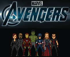 The Avengers by Almejito