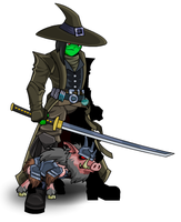 VAMPIRE PIGGY HUNTER by The-Architetcer