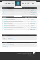 Forum template 01 by Leniv3c