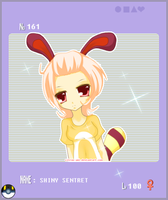 Gijinka -Shiny Sentret by Citron-Ami