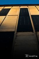 Wall of Palais de Justice by TTKC