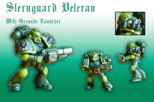 Sternguard Devastator with Grenade Launcher by Pip-Faz