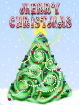 Merry Xmas for PS and GIMP by kelzygrl