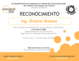 InnovaTech 2005 Reconocimiento by stanmx