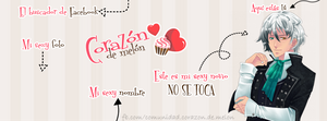 Facebook Cover #11 ~ Amour Sucre - Lysandro by MichelleMegurine