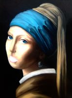 Copy of Vermeers Lady by Michelle-Kowalczyk