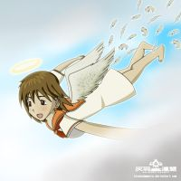 Ailes Grises/Haibane Renmei by BluesodaMania