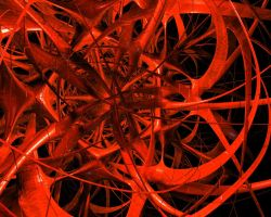 dark red abstract by kai-76