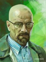 Breaking Bad: Walter by imlineking