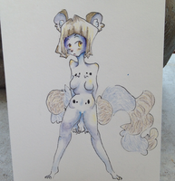 Nameless Snow Leopard Anthro [Etsy] by kiragira