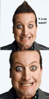 Tre Cool, y u no want? WHYYYY by BuiltToFail