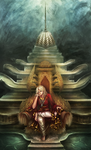 The Lotus Throne by ahpai
