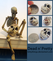 Dead and Pretty - SOLD by Bittythings