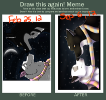 Before after meme by iKodi