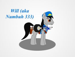 MLP Warrior Numbuh 333 by Redtriangle