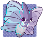 049 Venomoth by Miss-Glitter