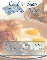 Cambria Suites BreakfastBuffet by advs14u2nv