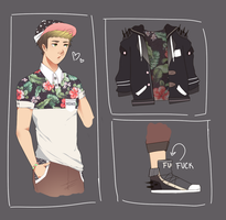 flower boy auction [OPEN] by Tochi-Adopts