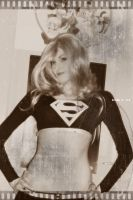 Black Supergirl by Youei