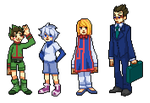 Hunter x Hunter pixels by alalampone