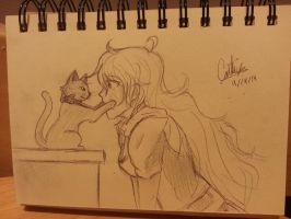 The Cat and the Yang by ShadowClaw-X