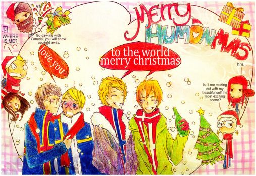 Merry Humon-Mas by handsomedara