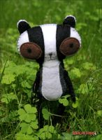 Rupert the Badger by BibelotForest