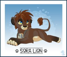 Sora Lion for Angie by nooby-banana
