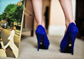 Blue Suede Shoes vs Abbey Road by Tsururadio