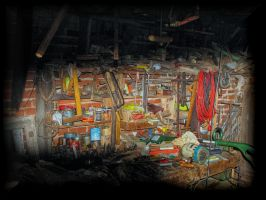 Father's workshop. by Yancis