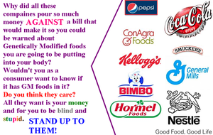 They are AGAINST GMO labels by LightDemonCodeH