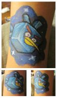Angry Bird in space by Angelic-Fayth