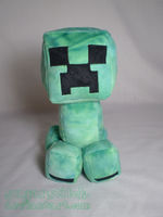 Minecraft: Creeper Plush by sugarstitch