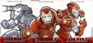 Iron Man 3 - The Iron Squad by theopticnerve