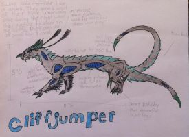 Cliffjumper Species Ref Sheet by queenfirelily17