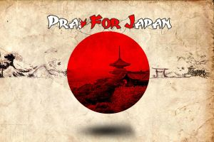 Pray for Japan by pullzar