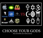 Choose your Gods by Sc1r0n