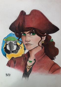 Pirate by ArtificialApplepie