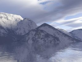 Snow Capped Mountains V1 by cosmicbound