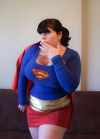 Super Girl once more by underbust