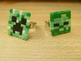 Minecraft Rings by DisasterExe