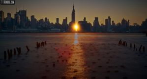 Manhattanhenge by wmandra