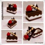 Milk Choc Mini Cake Box by SongAhIn