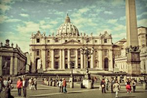 St. Peter's Basilic- color by sunflower983