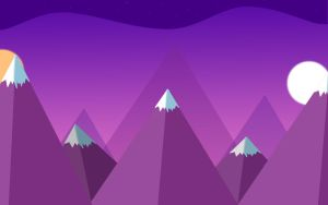 Purple Mountains by Ruptxre